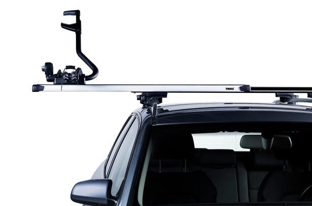 גגון לרכב 753 THULE flush Rails קורות slide bar - סט מלא