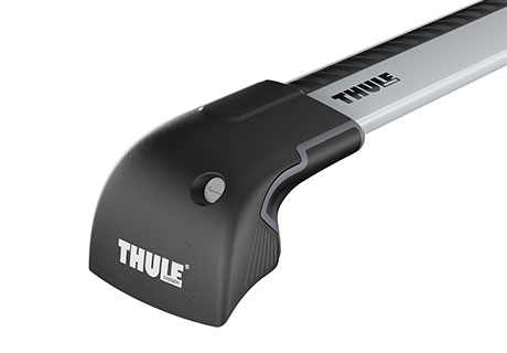 גגון לרכב Thule 9591 קורות Wing Bar Edge אפור לגג Flush Rail